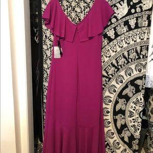 New Bebe Dress Size 12 Fuschia.
